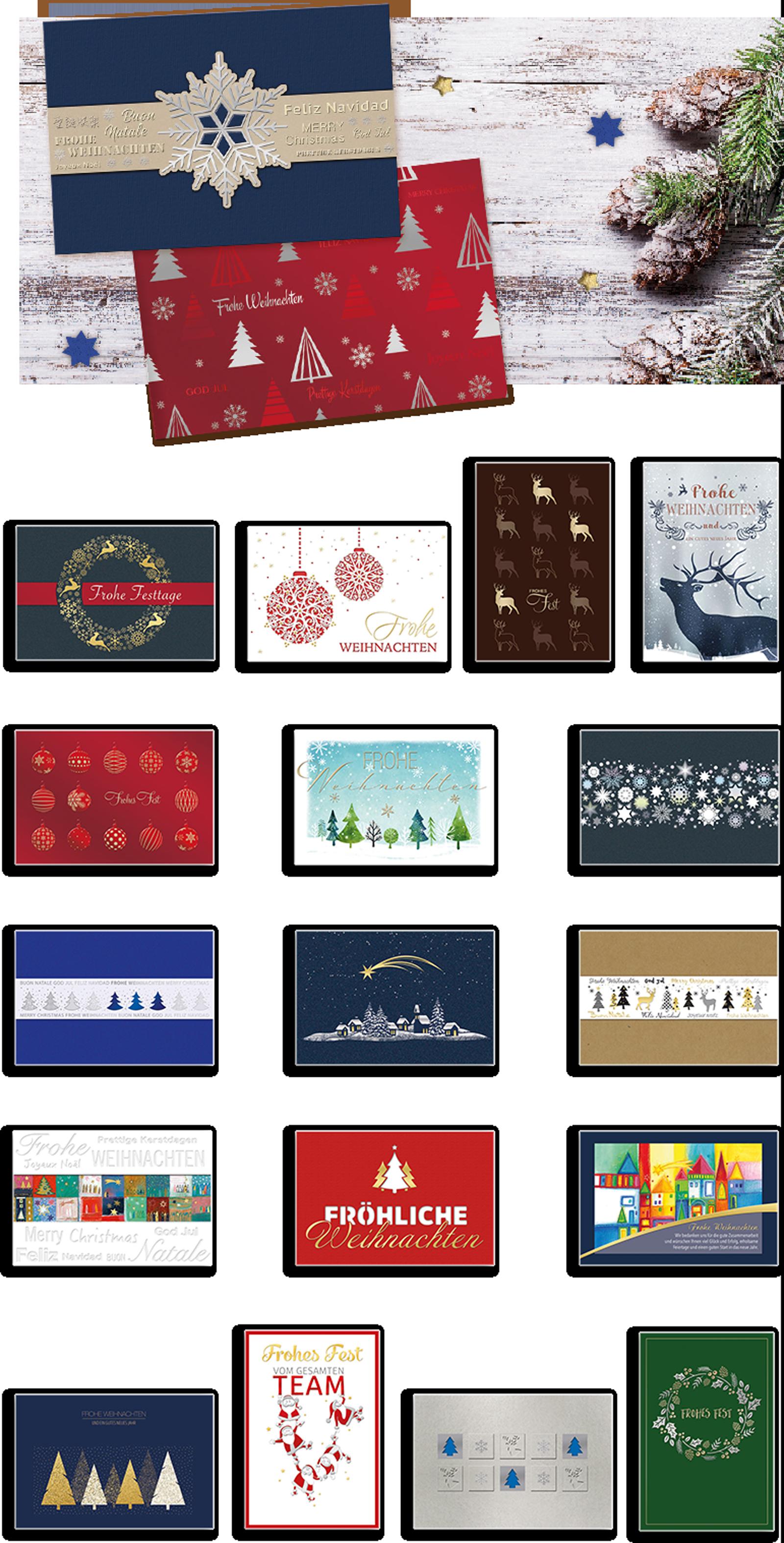 Weihnachtskartenkollektion Korsch Verlag