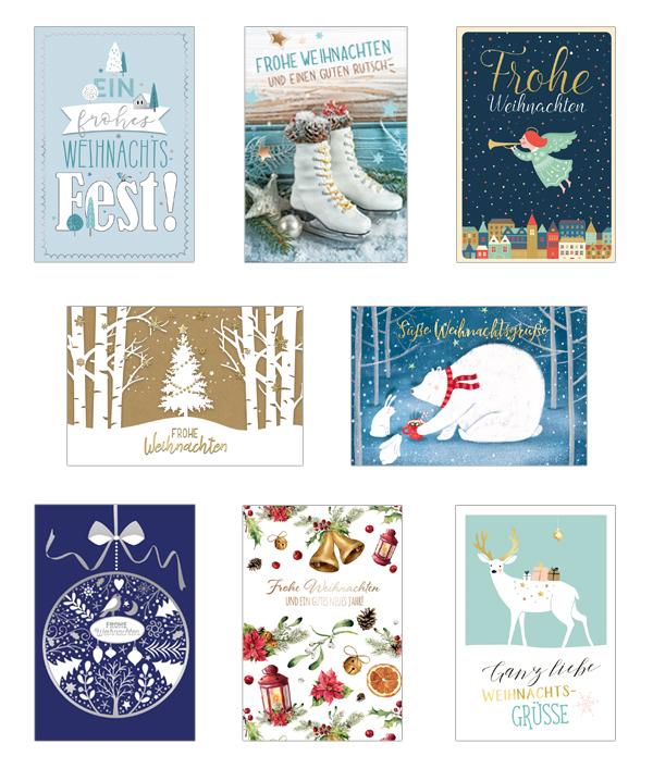 Weihnachtskarten Verlag.Weihnachtskarten Korsch Verlag